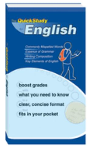 Booklet English Quick Study (SKU 1002828523)