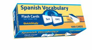 Cards Flash Spanish Vocabulary (SKU 1011808523)