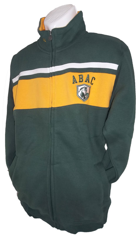Green Jacket w/Gold Stripe with ABAC Shield (SKU 1000619114)