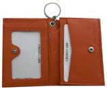 ABAC ID/Card Holder, Snap Closure, Assorted Colors