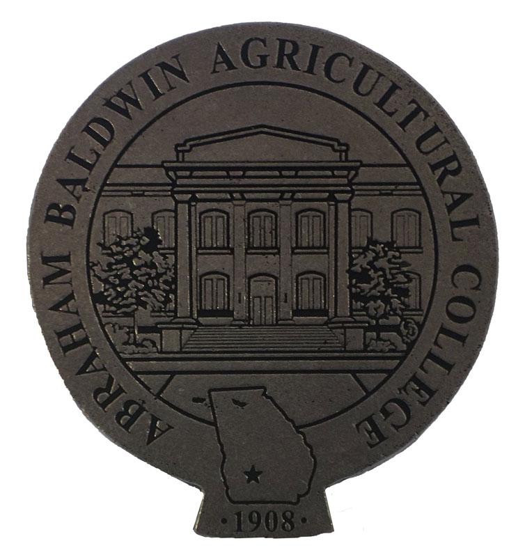 Hitch Cover, Standard Size, With Abra Bald Agri Colg,1908, Pewter (SKU 100512767)