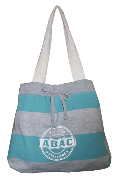 Beachcomber Tote Bag, Jade With Abac Est 1908 Stallions (SKU 1005128313)