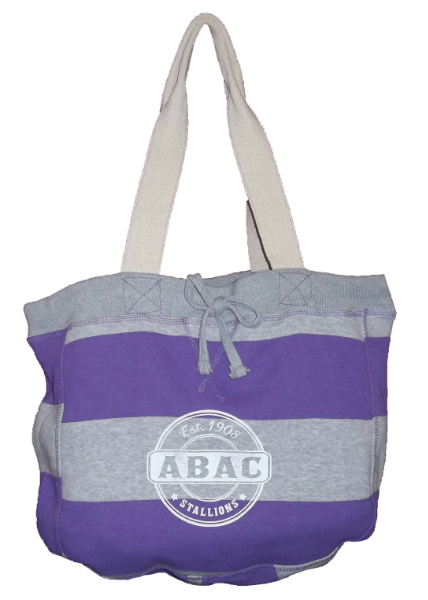 Beachcomber Tote Bag, Orchid with ABAC Est 1908 Stallions (SKU 1005130613)