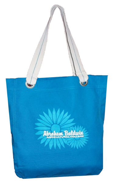 Tote Bag Turquoise Flower Abr Bal Agr Col (SKU 1005670713)
