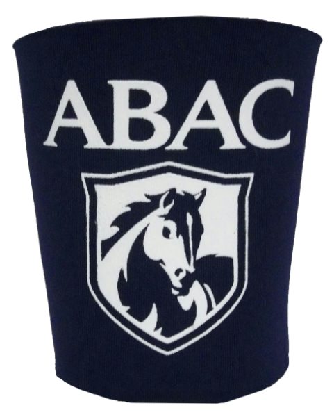 Koozie Party Cup Navy Abac And Shield In White (SKU 100597606)