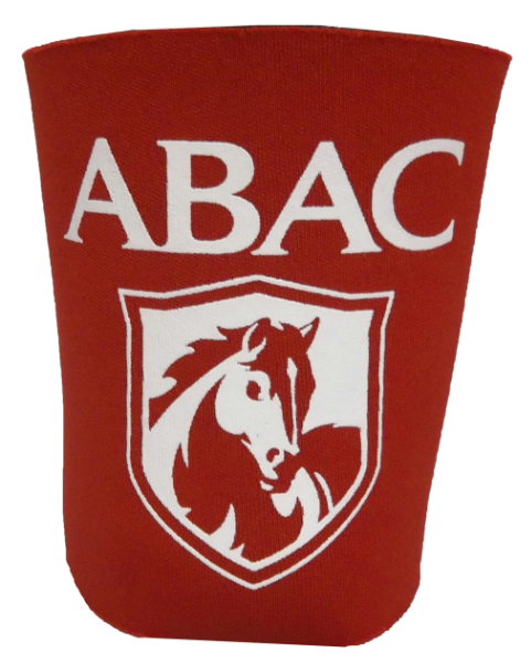 Koozie Party Cup Red Abac And Shield In White (SKU 100597776)
