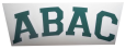 Green ABAC Decal with ABAC  Arched