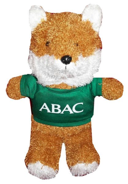 Plush Fox W/Green Shirt, Abac In White (SKU 1006877912)