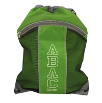 Drawstring Bag ABAC Stallions in White