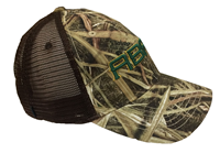 Camo Cap Trucker Abac Green And Gold Mesh