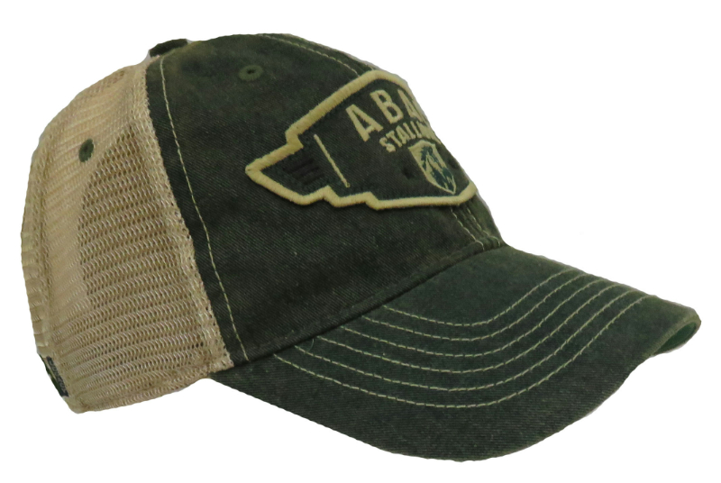 Cap Green Trucker ABAC Stallions Wing Design (SKU 1009096111)