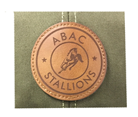 Trucker Cap Leather Patch ABAC Stallions Horse