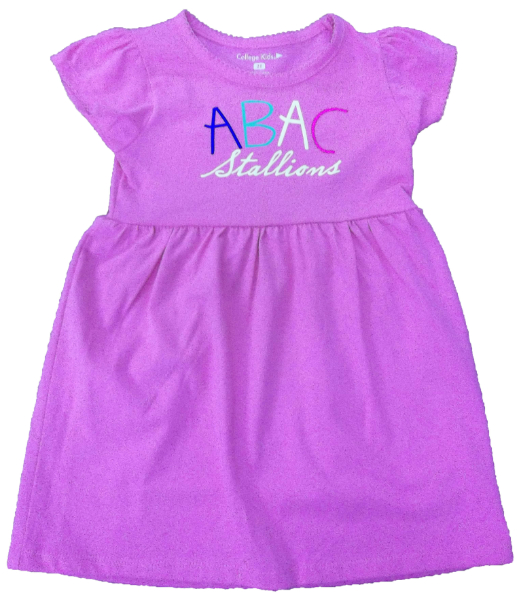 Youth Dress With Abac Stallions In Multiple Colors (SKU 1007655216)