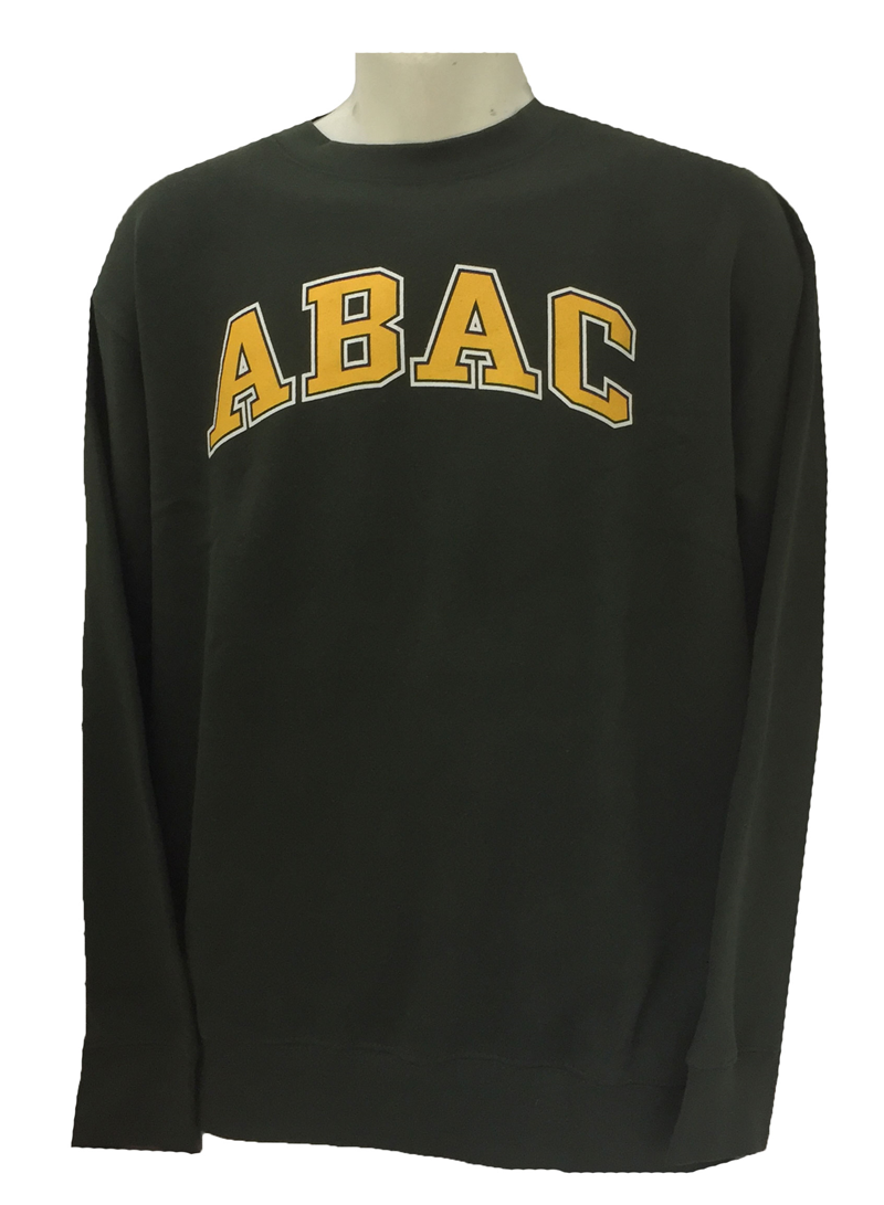 Fleece Crew ABAC Gold Outlined White (SKU 101444044)
