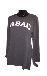 Ladies Tunic Crew ABAC in White