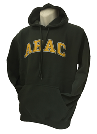 Fleece Hood ABAC Gold Outlined White