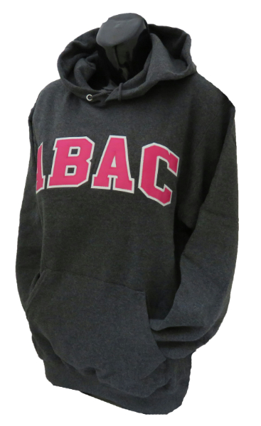 Fleece Hood Abac In Pink Outlined In White (SKU 100927433)