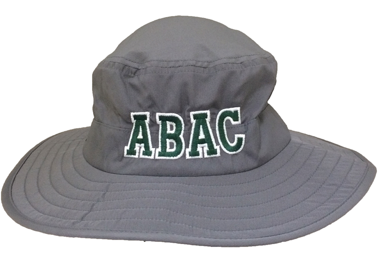 Hat Sun Hat ABAC in Green Outlined (SKU 1008665011)