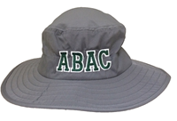 Hat Sun Hat Abac In Green Outlined