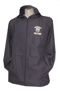 Full Zip Rain Jacket ABAC Shield Stallions