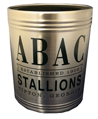 Koozie Steel Can Cooler ABAC Stallions Est. 1908