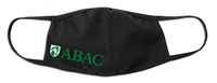 Face Mask Black ABAC Shield Green