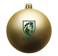 Shatter Resistant Ornament Green ABAC Shield Matte Finish