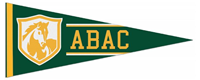 Pennant Green ABAC Gold Shield Felt 12x30