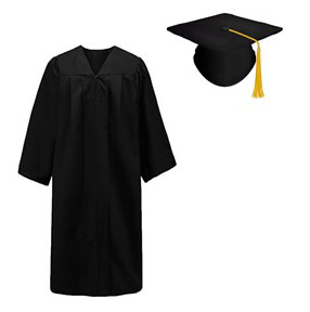 Cap, Gown and Tassel XL (SKU 1003612920)