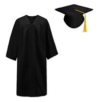 Cap, Gown and Tassel XL