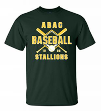 Shirt ABAC Baseball 1908 Bat Design