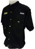 Columbia Shirt with ABAC in Gold outlined in White