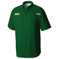 Columbia Tamiami Shirt with ABAC on left chest