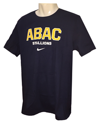 Shirt ABAC in Gold Outlined in White Stallions