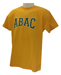 Shirt ABAC Green Outline White