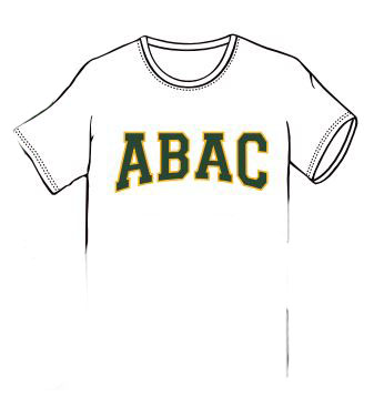 ABAC in Green Outlined Gold Arched (SKU 101697662)