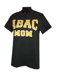 Shirt ABAC Mom Gold White Outlined