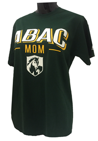 ABAC Mom White/Gold Block Design