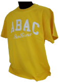 Shirt With Abac Above Stallions In Script