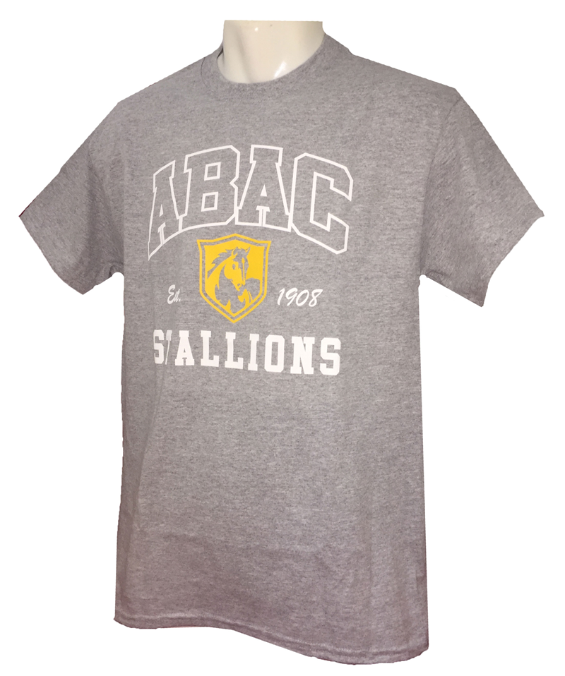 Shirt ABAC Outlined in White with Gold Shield (SKU 101325482)