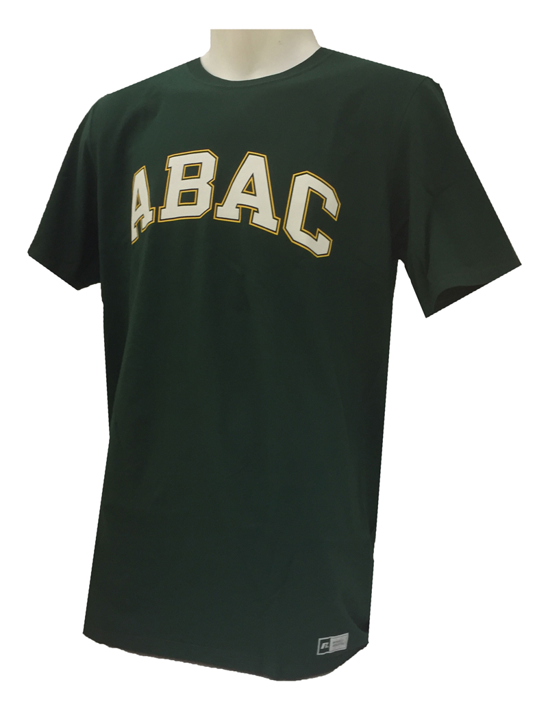 Shirt ABAC White Outlined Gold (SKU 101427692)