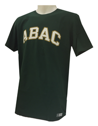 Shirt ABAC White Outlined Gold