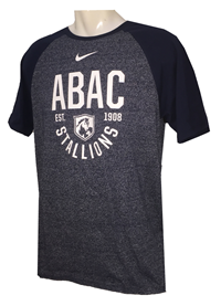 Shirt ABAC White Stallions Curved Est 08