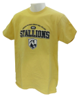 Shirt Abr Bal Agr Clg Stallions In Navy Across The Chest