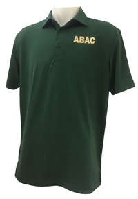 Men's Columbia Green ABAC in White Outlined Gold