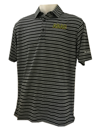 Men's Columbia Black Striped ABAC Green