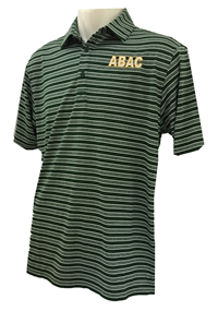Men's Columbia Green Striped ABAC White
