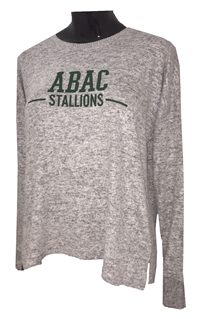 Shirt L/S Cuddle Soft ABAC Stallions Green