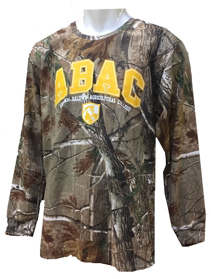 Long Sleeve Camo ABAC Gold Shield (SKU 101143392)
