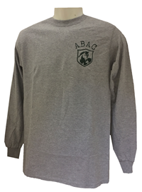 Shirt L/S School Name Stallions Circle Design Back